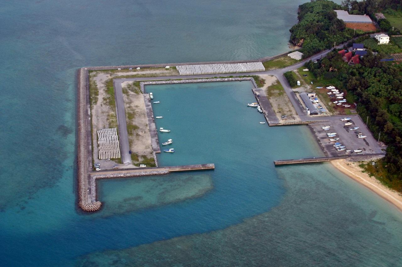 新里漁港の写真3